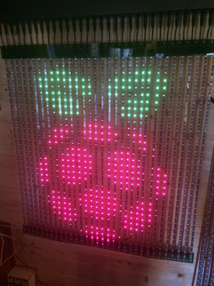 LED Raspberry